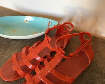 Vintage Jelly sandals