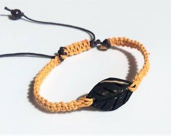 Coconut leaf bracelet, hemp bracelet, macrame bracelet, gifts for her, gifts for teens, beach bracelet, friendship bracelet, surfer bracelet