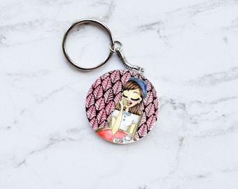 Parisienne keychain