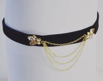 Black Velvet Choker Necklace Antonia