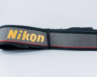 Genuine NIKON Shoulder Strap Neck Belt Wide Strap
