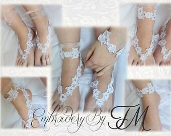 Sandal barefoot FSL, bracelet, headband etc. This design has very many variants of use..