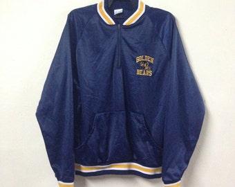 VINTAGE GOLDEN BEAR 80s sweatshirt half zipper