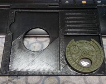 X-Wing Miniatures Game Gear : Ship Dashboard Sized for Dial Protector Set of 4