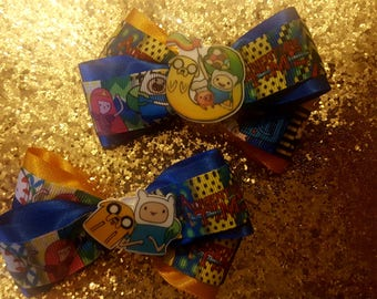 Adventure Time hairbows