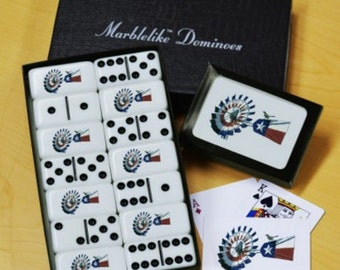 Windmill Dominoes & Playing Cards Gift Set