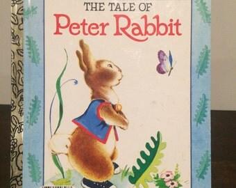 A Little Golden Book/ The Tale Of Peter Rabbit-Beatrix Potter 1970 Vintage #307-9