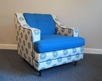 Mid Century Club Chair - Mad Men Style