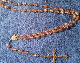 Beautiful Rosary of the 60's. *