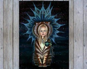 fantasy paintings . mystical artwork , fantasy paintings , outsider drawing