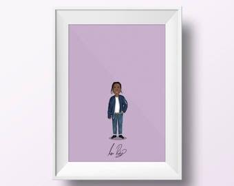 ASAP Rocky - Rap Poster