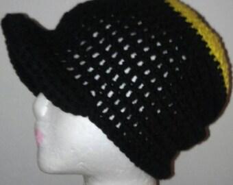 Crochet Cap with visor
