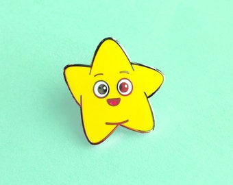 Happy Star Pin