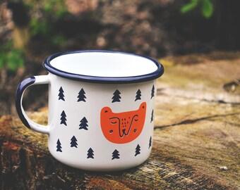 But first coffee!- Beautiful enamel mug!