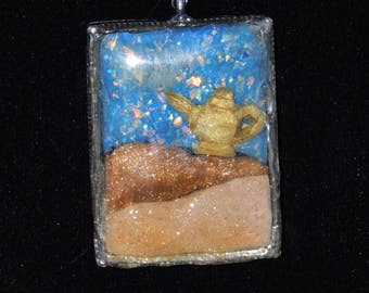 Aladdin Magic Lamp Pendent