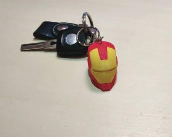 Retro Iron Man Mk7 Keychain