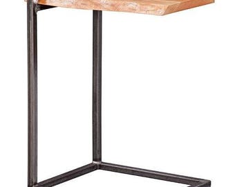 Natural Live Edge Accent Table