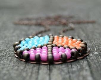Peace Symbol - Peace Symbol Pendant - Peace Sign - Peace Pendant- Peace Sign Necklace - Peace Jewelry - Boho Chic - Boho Jewelry - Hippie