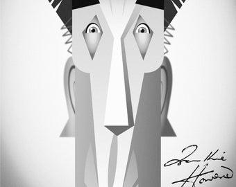 Frankie Howerd print