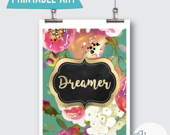 "Downloadable Art ""Dreamer""  8x10inches"