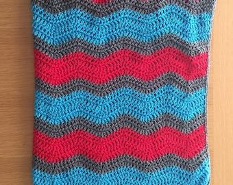 Custom Cotton Soft Ripple Baby Blanket