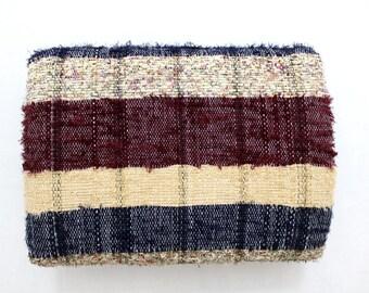 Handmade Hand woven Chindi Area Rugs Rectangular Carpet Durrie Recycled Bohemian Beach Garden Yoga Mat Indian Floor Kilim Counterpane I629