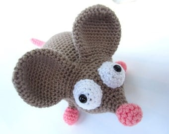 Amigurumi Mouse Crochet Pattern