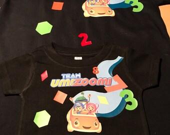 Team umizoomi shirt