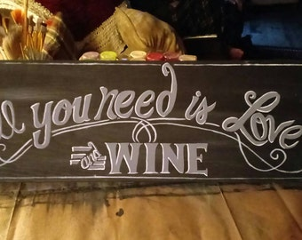 Hand Painted Wall Sign