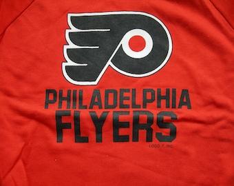 Vintage Philadelphia Flyers NHL hockey orange  sweatshirt by LOGO7 made in the USA New with tags