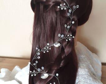 extra long cheveux vigne vigne de cheveux de mari e vigne de. Black Bedroom Furniture Sets. Home Design Ideas