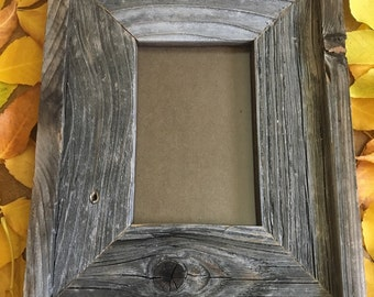 4 x 6 inch Barn Wood Picture Frame
