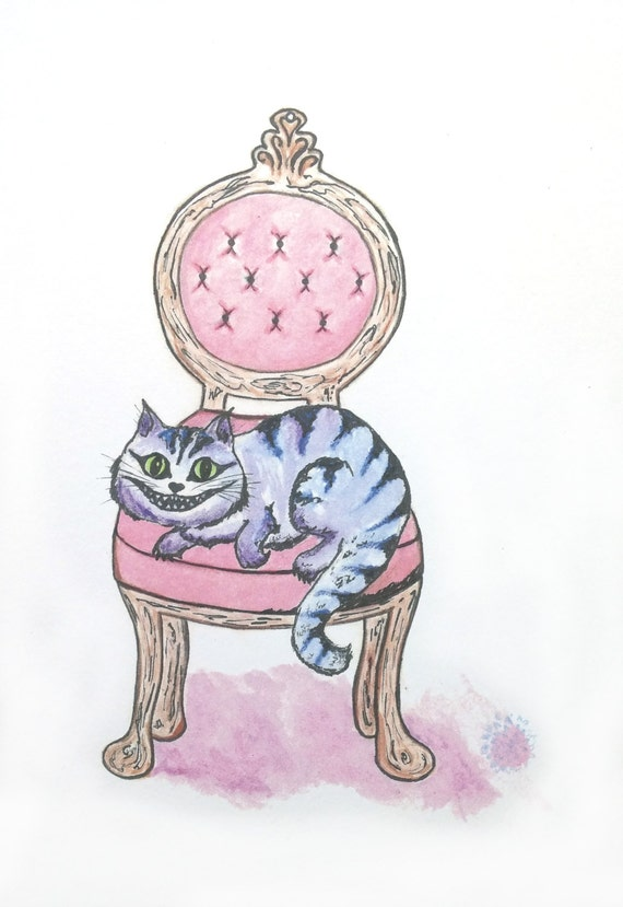 A cozy Cheshire cat