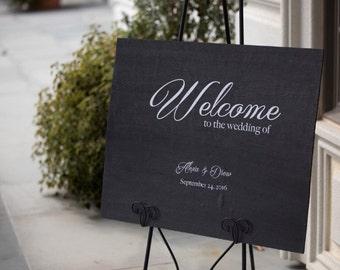 Welcome Wedding Sign, Wood Wedding Sign, Welcome Rustic Wood Sign, Wood Welcome Sign,