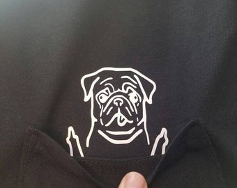 Bad Dog Pocket tee