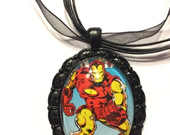 Marvel Iron Man Necklace