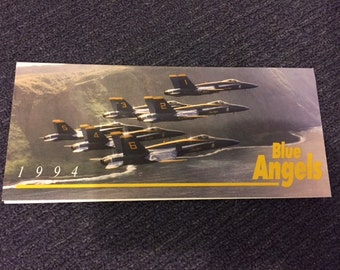 1994 Blue Angels Air Show Brochure