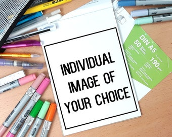 COMMISSION ~ Customized Pencil Drawing of your choice!