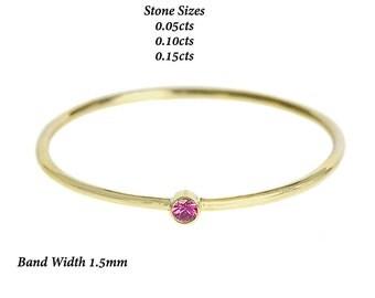 Free Shipping,Single Stone Ring,Single Stone Ruby Ring,Bezel Set Ruby Ring,Ruby Ring,Birthstone Ring,Stack Ring,Minimalist Ring,Thin Ring