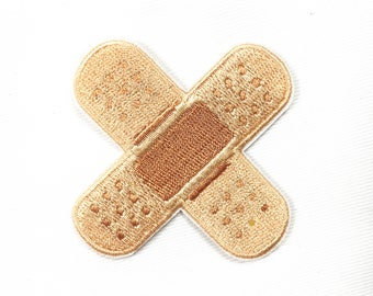 band Aid patch iron on patch embroidered patch badge sew on patch iron on patches
