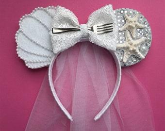 Ariel Inspired BRIDAL Ears