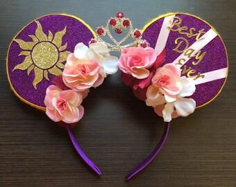 Tangled Inspired Minnie Ears