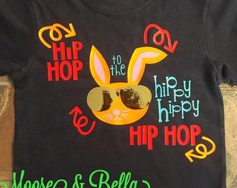 Hip Easter Bunny Shirt