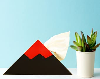 Volcano  -  Tissue Box Holder