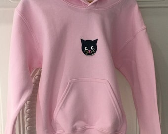 Pink Cat Hoodie