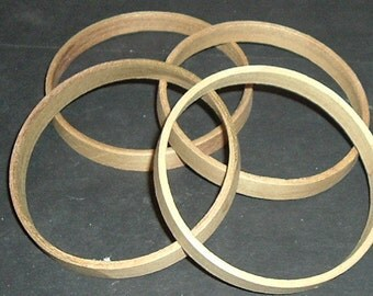 """WOOD RINGS 3-1/4"""" (4)"""