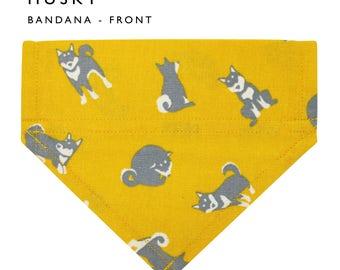 Pet Bandana, Husky pattern, dog bandanas