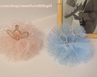 1st birthday headband,Tiara headband, Princess Headband, Hand Made,Disney Princess, Hand Made,Cinderella tiara
