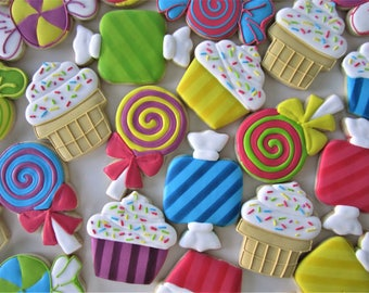 Sweet Shop cookies/Candy cookies
