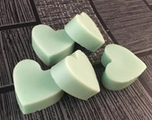 Lime Mini Melts, Soy Wax Mini Melts, Fruit Wax Melts, Soy Wax Melts, Scented Wax Melts, Heart Mini Melts, Heart Melts, Home Fragrance